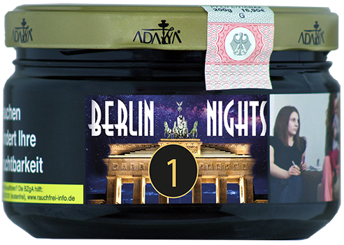 Adalya Tabak 200g - Berlin Nights