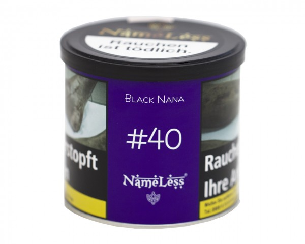 Nameless 200g - Black Nana