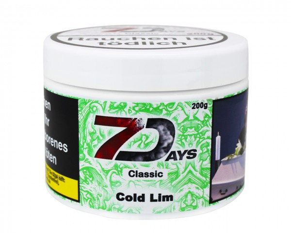 7 Days Classic 200g - Cold Lim