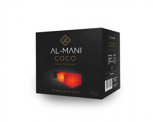 Al-Mani Coco Gold Premium - 1Kg - 26 mm