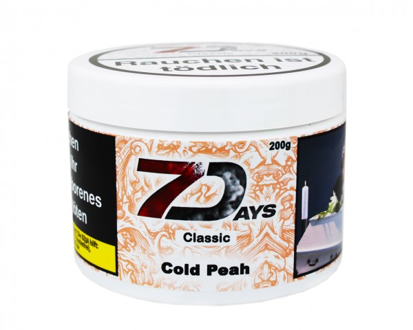 7 Days Classic 200g - Cold Peah