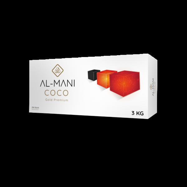 Al-Mani Coco Gold Premium - 3Kg - 25mm