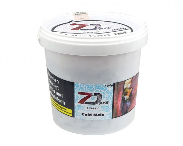 7 Days Classic 1000g - Cold Melo